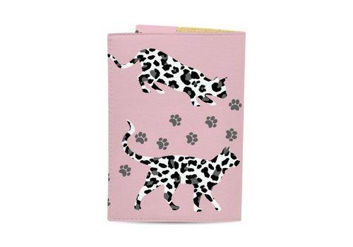 """фото 3 - Обложка на паспорт Just cover """"Леопардовые коты"""" 13,5 х 9,5 см"""