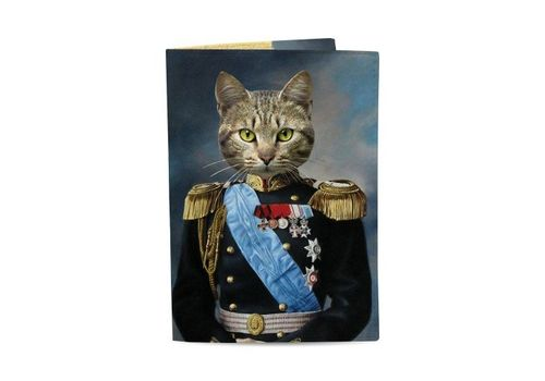 "зображення 1 - Обкладинка на паспорт Just cover ""Кіт Імператор"" 13,5 х 9,5 см"